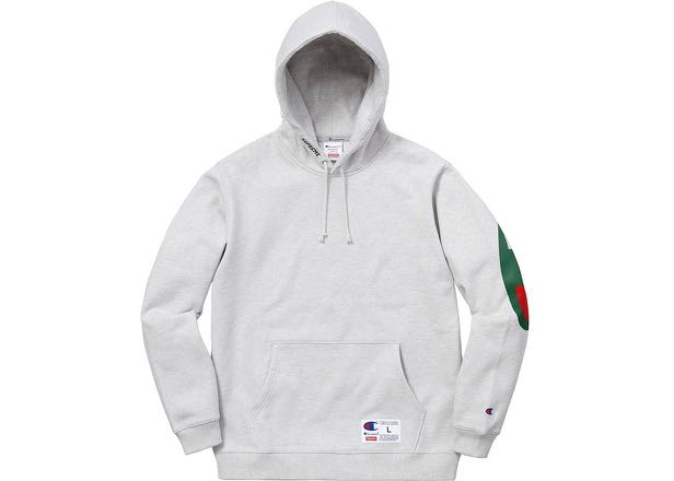 9284be5b181e Supreme x Champion SS18 Grey Sweatshirt