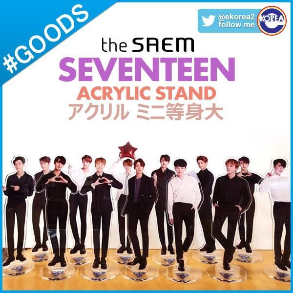 THE SAEM SEVENTEEN WONWOO ACRYLIC STAND