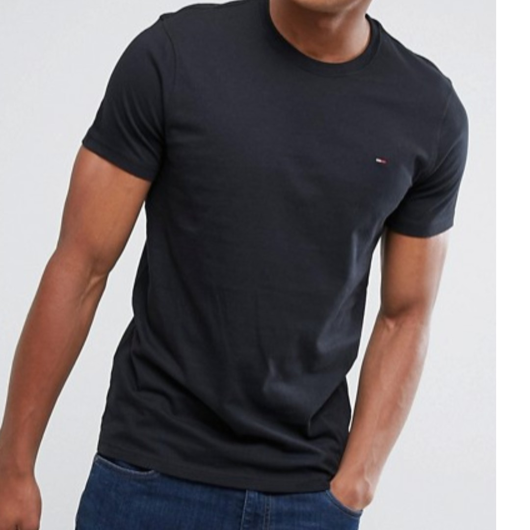 6186840d Tommy Hilfiger Crew Neck Tshirt, Men's Fashion, Clothes, Tops on ...