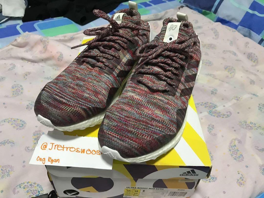 f79f6a41f UK 10 US 10.5) Adidas Ultra Boost Mid Ronnie Fieg   KITH Aspen ...