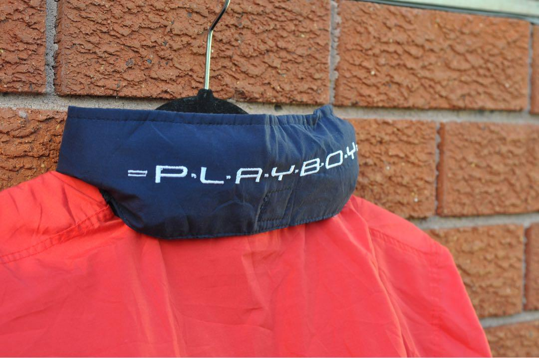 Vintage 90's Playboy Sport Embroidered Bomber (XL)