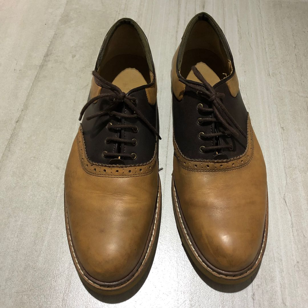 36987933 Zara Brown Leather, Men's Fashion, Footwear, Formal Shoes on Carousell