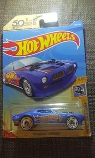 Hot Wheels '70 Pontiac Firebird HW 50th Race Team #SINGLES1111