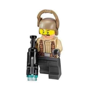 Lego 75131 Star Wars Resistance Trooper Battle Pack: Resistance Trooper with Moustache Minifigure