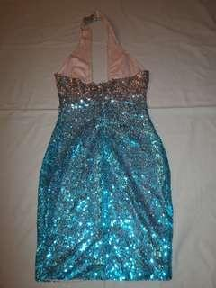 stunning sequins christmas party dress slim fit