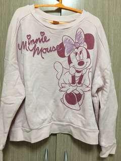 🚚 Uniqlo 長袖上衣 長袖T恤 米妮 迪士尼