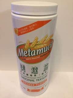 全新未開Metamucil美達施天然纖細素(橙味)