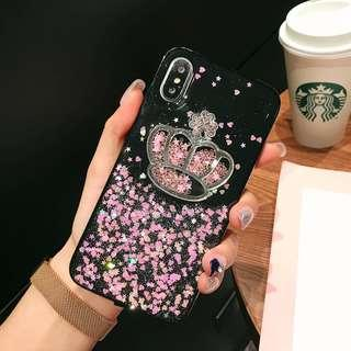 TPU Crown Shining Bling Bling Case