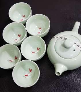 Chinese Tea Set #singles1111