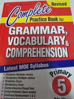 Give away English Practice Book Pri 5
