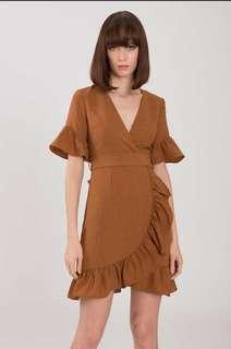 Doublewoot Brown Dress Size XL Preloved