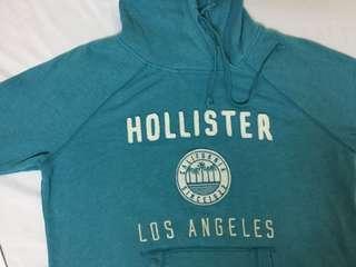 🚚 Hollister 湖水綠 帽T