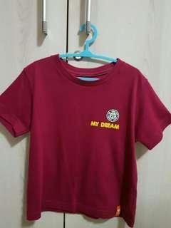 Maroon Giordano Shirt