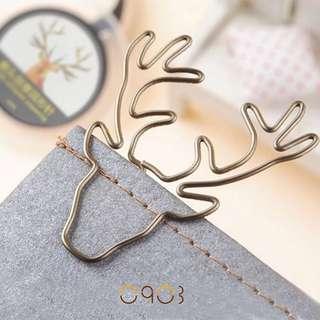 [Pre-order] Deer Paper Clip 🦌