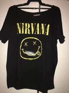 H&M NIRVANA TEE