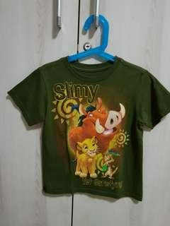 Olive Green Lion King Top