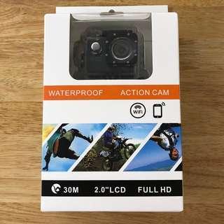 "BNIB Action Sports Camera 1080p FHD WIFI 2.0"" LCD Waterproof Casing Wireless Video SJ4000 SJ5000"