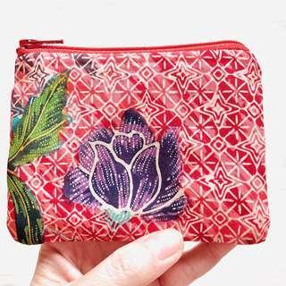 Batik Purse Handmade in Singapore
