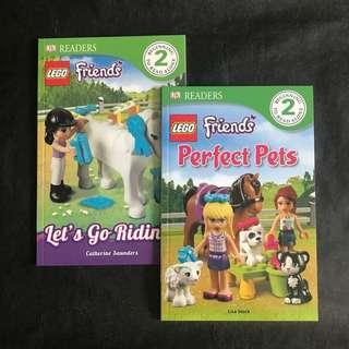 💥NEW- Lego Friends Duo Set -DK Readers Level 2 - Children story books #single11