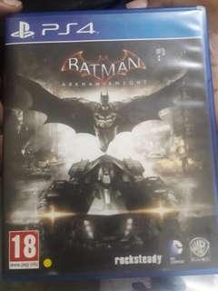 Ps4 games batman + sherlock holmes