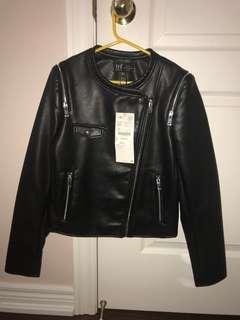 Black Zara Leather Jacket