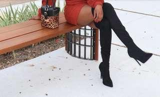 Zara- Over the knee boots