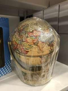 Swivel and Tiltable World Map Globe Ball 360 Degree Spin