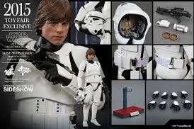 Star Wars 星球大戰Luke trooper