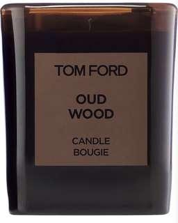 Tom Ford oud wood candle 100% new 40hours