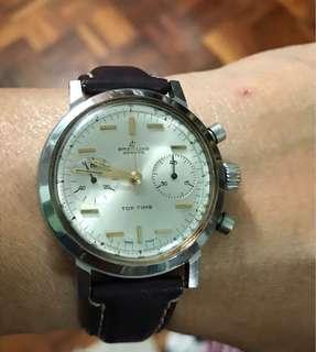 Vintage Breitling Chronograph venus 188