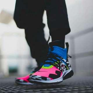 size 40 43336 0d6d5 Nike Air Presto Mid Acronym Pink Black