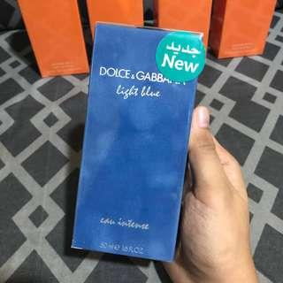 AUTHENTIC Dolce and Gabanna Light Blue INTENSE 50ml