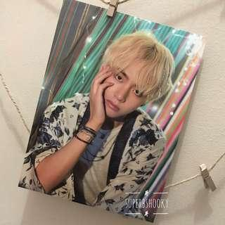 BTS SUMMER PACKAGE TAEHYUNG MINI POSTER