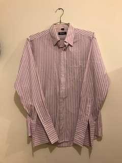DKNY dress shirt 間條恤衫