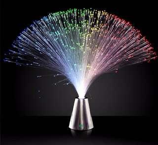 YWXLight Beautiful Romantic Color Changing LED Fiber Optic Night Light Lamp - MULTI