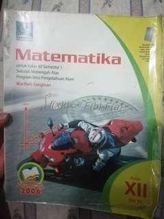 MATEMATIKA KELAS XII IPA SEMESTER 1
