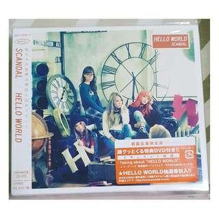SCANDAL - Hello World (CD+DVD)