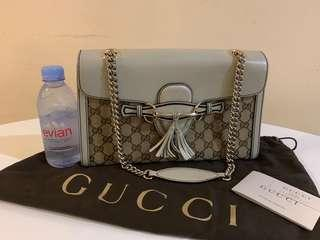 (Preowned) gucci GG emily shoulder bag