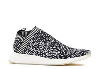 絕版Adidas NMD CS2 PK Sashiko Japan日本特別版 黑白Primeknit Boost Originals Zebra 斑馬紋 FlyKnit 懶佬鞋