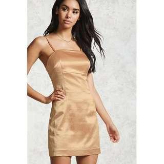 BNWT Gold Dress