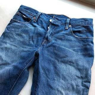 🚚 旋轉雙11當日單次限定免運✨(近全新) LEVIS 501 CT 男友褲 (#17804-0002) 27腰