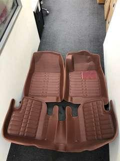 (Last set) Honda Civic 10th Gen PU Leather Car Mat