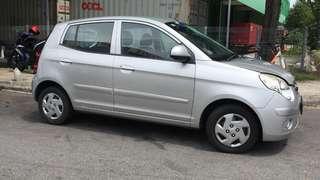 Kia Picanto car vehicle for rent rental