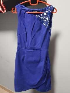 Royal Blue Dress - Size XS