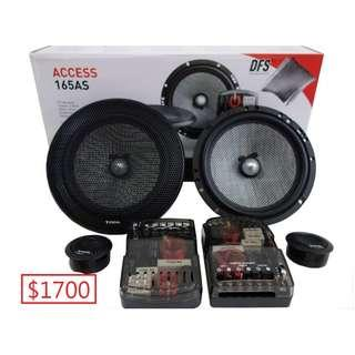 全新行貨DEALER GOODS FOCAL ACCESS 165AS-6.5吋套裝分音汽車喇叭