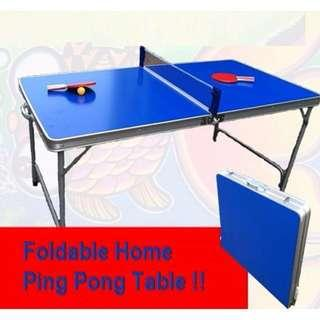 Foldable Table Tennis Table/ Ping Pong Table - Brand New In Box