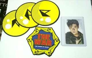 REPRICED EXO Sehun Power Coaster and Photocard Official Goods