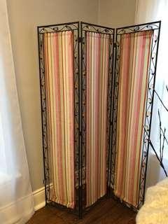 Beautiful ornate pashmina room divider