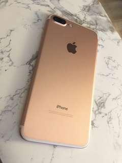 IPHONE 7 PLUS 32GB ROSE GOLD + 2 CASES