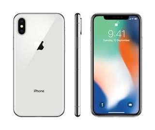 IPHONE X 64 GB MULUS BARU 3 BULAN PAKE
